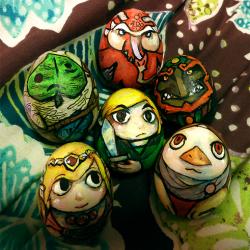 Zelda themed Easter eggs: Wind Walker