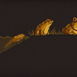 The Evolution of Hypnotoad t-shirt