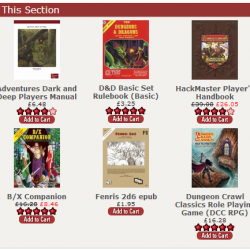 Coupon: 15% off 12 of the strongest OSR RPG titles