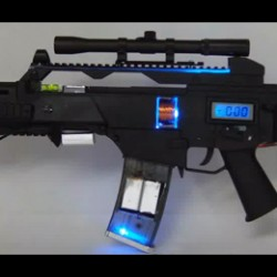 Your very own home made G36 coilgun rifle