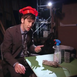 David Tennant in the weirdest The Day of the Doctor video yet