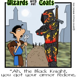 Wizards without Coats: Flames