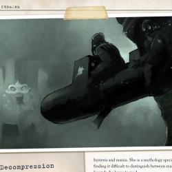 A look inside: Cthulhu at War