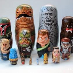 Star Wars: Jabba the Hutt nesting dolls