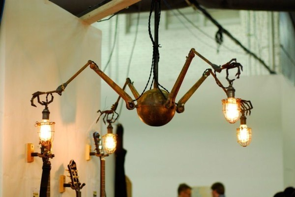 Creepy hand lamps ideal for spooky gms hands chandelier mozeypictures Gallery