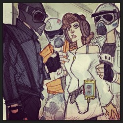 What if Star Wars was set in an 80s High School