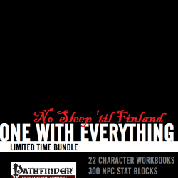 No Sleep 'til Finland – $130 of Pathfinder savings
