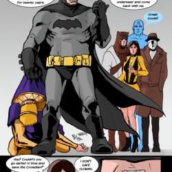Superhero Week: If Batman had been in Watchmen