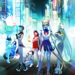 Sailor Moon meets Cyberpunk