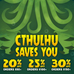 Lovecraft's birthday summons Cthulhu sales!
