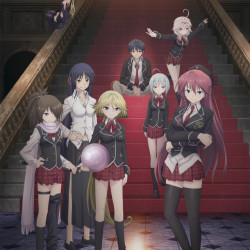 """Warm up for a """"battle comedy"""" with the Trinity Seven trailer"""