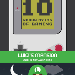 10 urban myths of gaming [infographic]