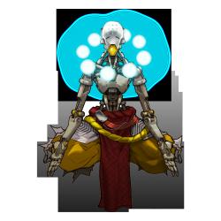 Overwatch character art