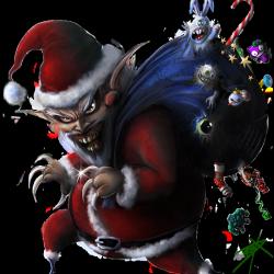 6 evil Santa Claus