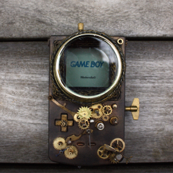 What would a steampunk Game Boy look like?