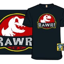 Dinosaur t-shirt: Kawaii Rawr!
