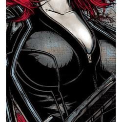 Poster: A stunning Black Widow