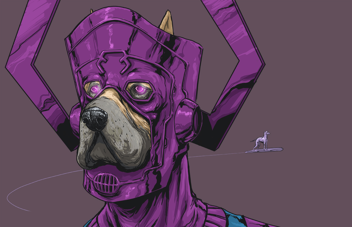 16 clever dogs of the Marvel Universe