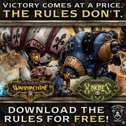 Free rules for Warmachine and Hordes – now $400 bonus prize