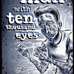 The Man with Ten Thousand Eyes born from five movie posters