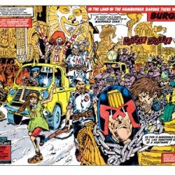 Forbidden Judge Dredd episodes to see print again