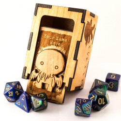 TradeCraft Bonus: Personalised Cthulhu chibi dice box