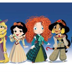 Disney Princesses as Doctor Who
