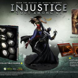 What's in the Injustice Gods Among Us collector's edition?