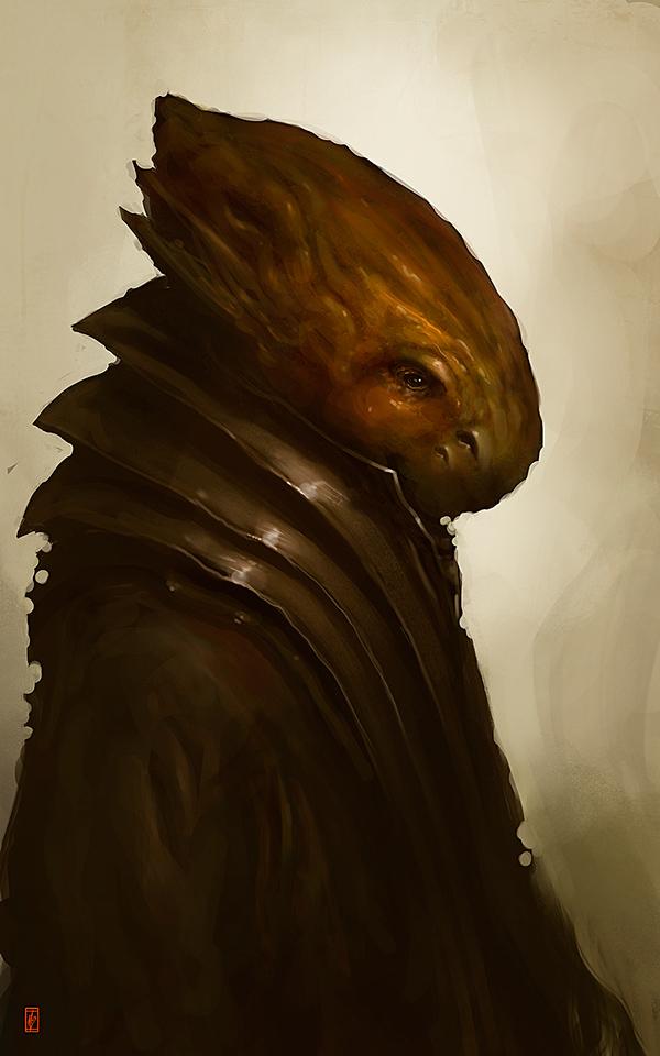 Markus Lovadina's creatures and characters 4