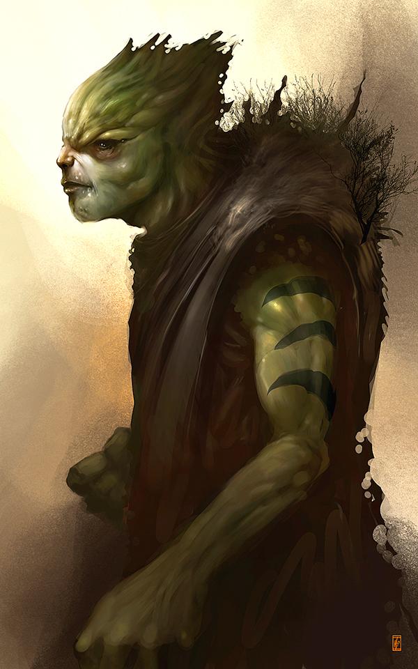 Markus Lovadina's creatures and characters 8