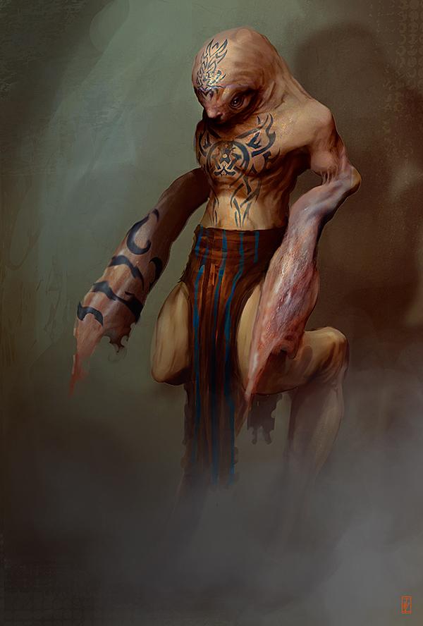 Markus Lovadina's creatures and characters 15