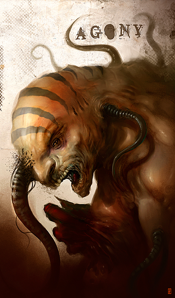 Markus Lovadina's creatures and characters 17