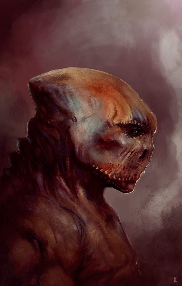 Markus Lovadina's creatures and characters 19