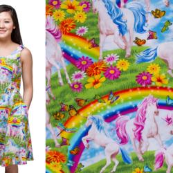 Behold! The rainbow unicorn dress