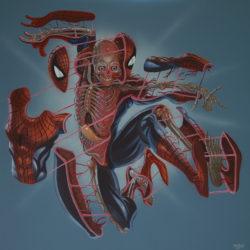 Superhero Week: Weird superhero dissection art