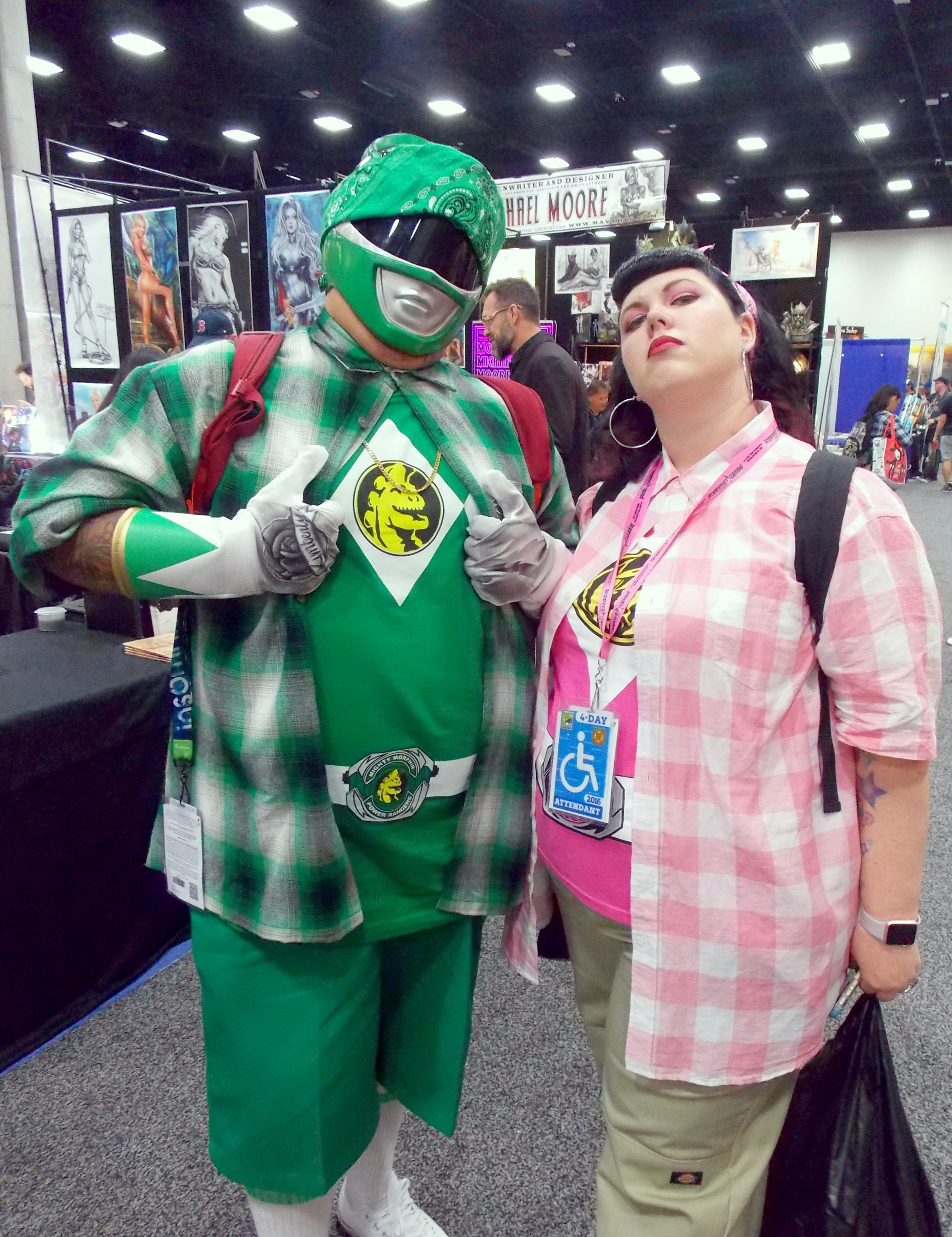 Chollo Power Rangers