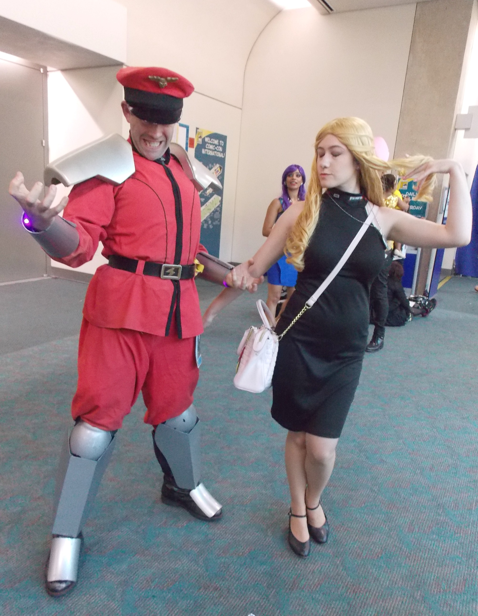 M. Bison and Karin