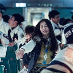 Zombies on a train: Train to Busan