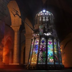 Incredible stained glass Dalek