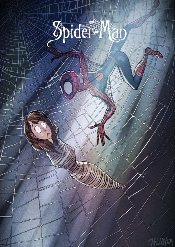 what-if-tim-burton-did-spider-man