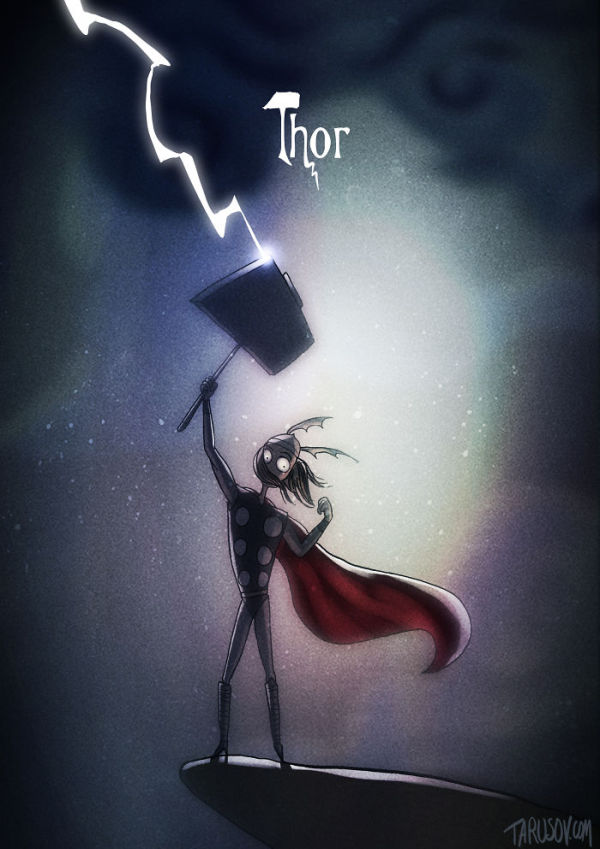what-if-tim-burton-did-thor