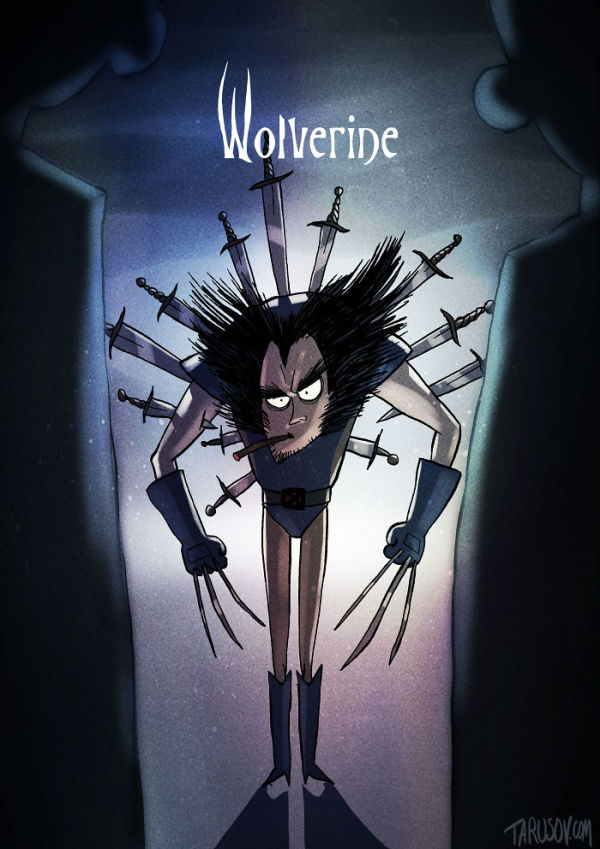 what-if-tim-burton-did-wolverine