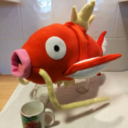 Cuddle your very own Magikarp!