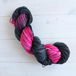 Geeky hand dyed yarn