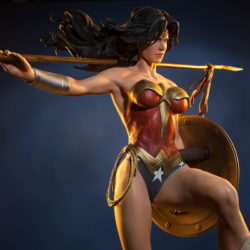 Win a $450 Wonder Woman collectible statue!