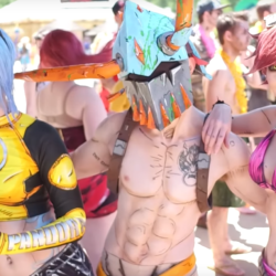The cosplay pool party that is Colossalcon