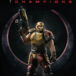 A first look at the Quake Champions comic character art
