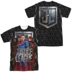 Superman all over the WB Justice League merch