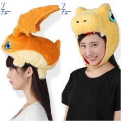 Plushie Digimon hats!