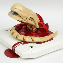 800 pieces of Lego chestburster